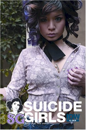 SUICIDE GIRLS #2 Jetpack Exclusive