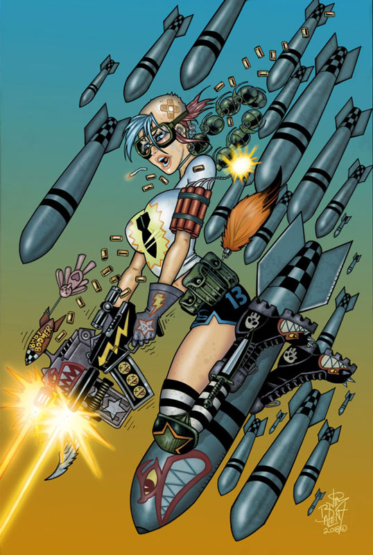 TANK GIRL ALL-STARS #1 (Jim Balent Jetpack Comics Exclusive)