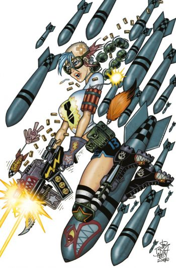 TANK GIRL ALL-STARS #1 (Jim Balent Jetpack Comics Virgin Exclusive)