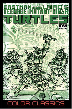 The TMNT Color Classics Jetpack Exclusive #4