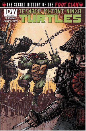 TMNT History Of The Foot Clan #2 Jetpack Exclusive