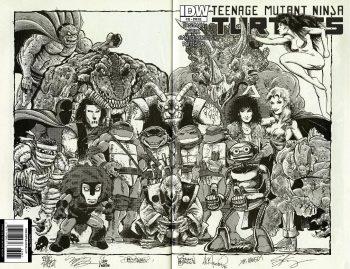 THE TURTLE CREATOR JAM EDITION- TMNT #33 (Limited Print Run)