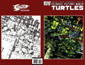 THE LAIRD TMNT #1 HOMAGE EDITION – TMNT #33 (Microprint Edition Very Limited)