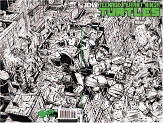 TMNT Annual – Jetpack Eastman Inked Edition