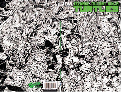 TMNT Annual - Jetpack Eastman Inked Edition