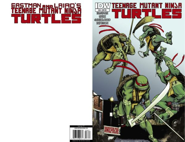 THE TURTLES TAKE ROCHESTER - TMNT #33 (Limited Print Run)