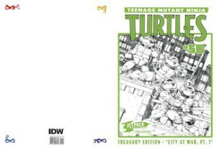 TMNT #50 Treasury Edition — Oversized Treasury Edition Ltd To 250 –
