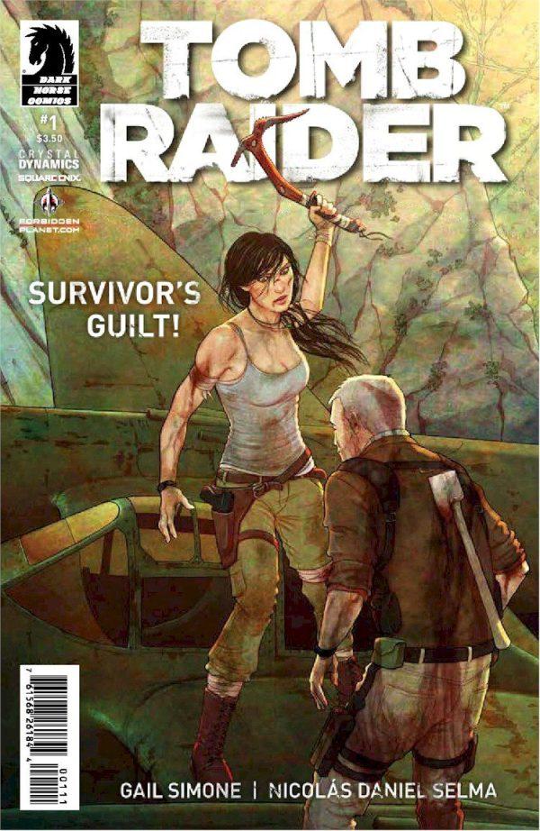 TOMB RAIDER #1 (Jenny Frisson Jetpack/Forbidden Planet Variant)