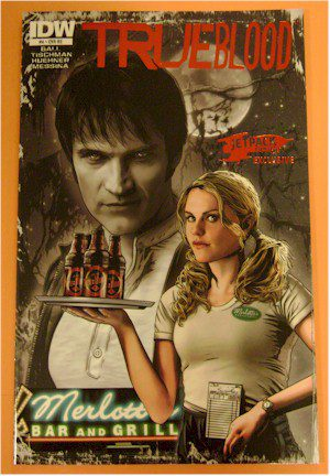 THE JETPACK COMICS #4 LIMITED EDITION TRUE BLOOD FOIL VARIANT