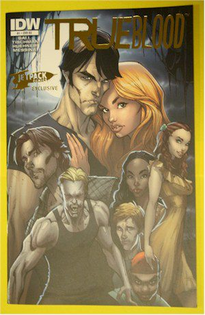 THE JETPACK COMICS LIMITED EDITION TRUE BLOOD FOIL VARIANT