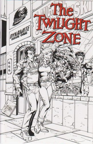 Twilight Zone #1 (Micro Print Phantom Edition)