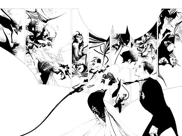 BATMAN #50 (JAE LEE COVER WITH LOGO)