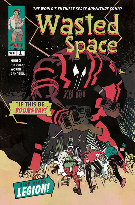 Wasted Space #1 (Jetpack Comics Exclusive)