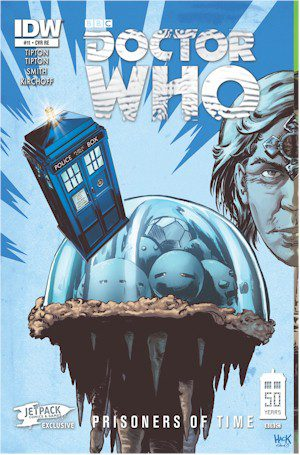 Doctor Who Prisoners Of Time #11 Jetpack Exclusive