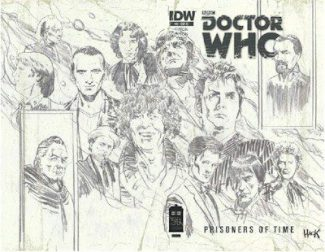 Doctor Who Prisoners Of Time #12 Wrap Jetpack Exclusive