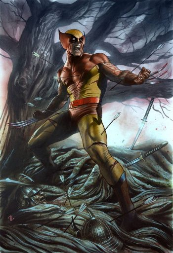 Return Of Wolverine #1 (Cover D Brown And Yellow Virgin 500 Printed)