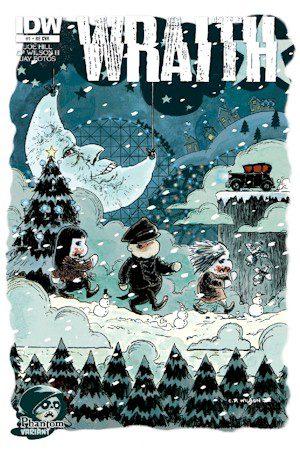 Wraith #1 Welcome To Christmas Town Phantom Exclusive