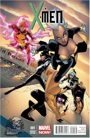 X-Men #1 Humberto Ramos Phantom Variant
