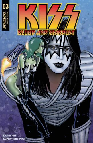 KISS BLOOD AND STARDUST #3 (Jetpack Comics / Forbidden Planet Exclusive)