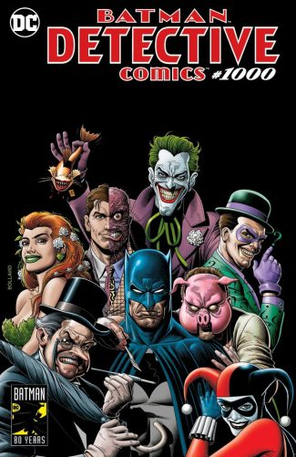 DETECTIVE COMICS #1000 (Brian Bolland Forbidden Planet Color Exclusive)