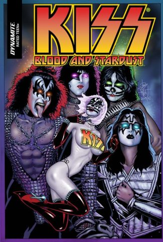 KISS BLOOD AND STARDUST #5 (Jetpack Comics / Forbidden Planet Exclusive)