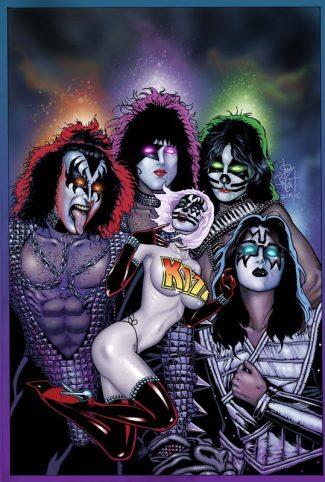 KISS BLOOD AND STARDUST #5 Virgin Cover (Jetpack Comics / Forbidden Planet Exclusive)