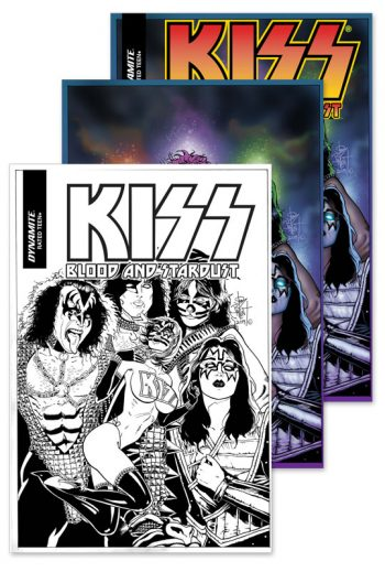 KISS BLOOD AND STARDUST #5 3-Pack (Jetpack Comics / Forbidden Planet Exclusive)