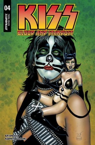 KISS BLOOD AND STARDUST #4 (Jetpack Comics / Forbidden Planet Exclusive)