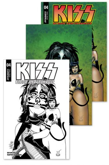 KISS BLOOD AND STARDUST #4 3-Pack (Jetpack Comics / Forbidden Planet Exclusive)