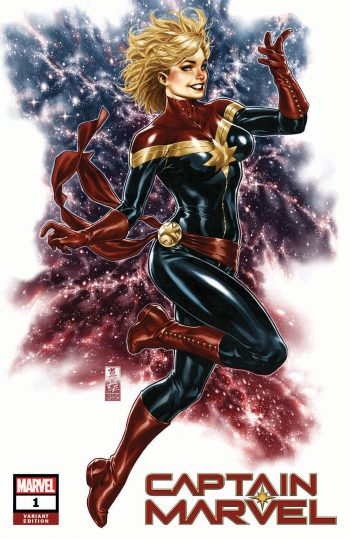 Captain Marvel #1 (Mark Brooks Exclusive)