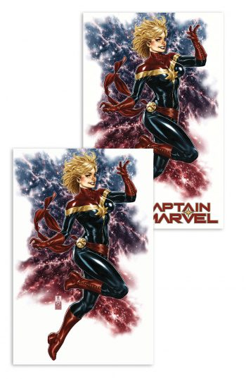 2x Captain Marvel #1 (Mark Brooks Exclusive & Virgin Variant)