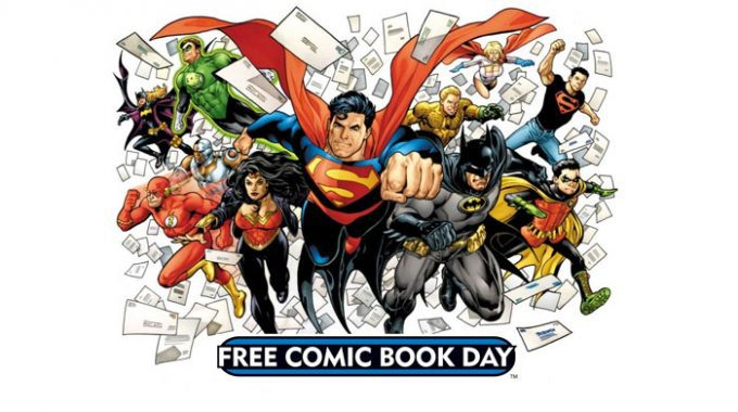 FREE COMIC BOOK DAY REGISTRATION IS NOW LIVE!