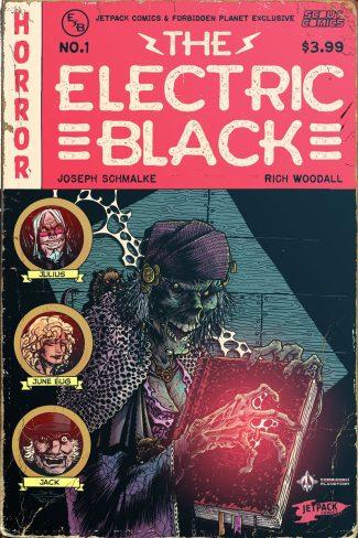 ELECTRIC BLACK #1 Jetpack Exclusive