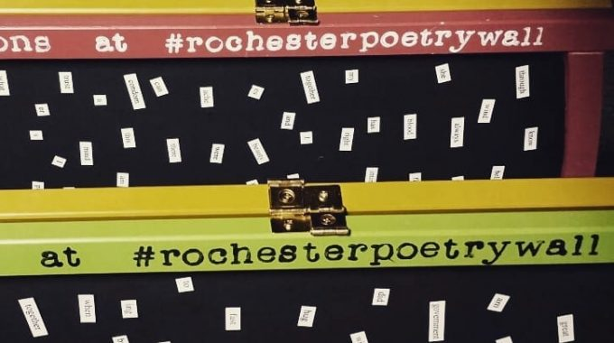 ROCHESTER'S POET LAUREATE BRINGS ROCHESTER POETRY WALL TO FCBD