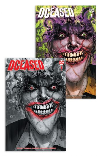 DCEASED #1 (TREVOR HAIRSINE 'OMEGA 880' B&W & Color Jetpack / FP EXCLUSIVE Set)