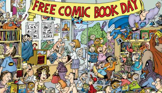 Free Comic Book Day 2 Is Coming!