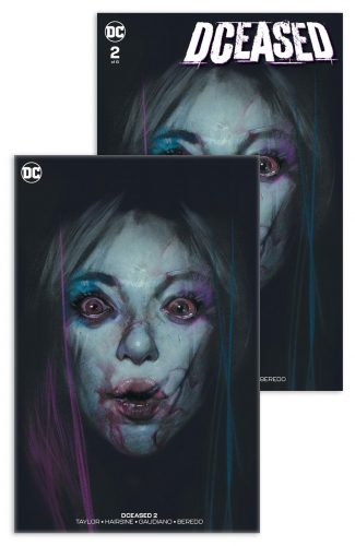 DCEASED #2 (Ben Oliver VIRGIN & Dressed Edition Jetpack Comics / Forbidden Planet Exclusive)