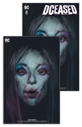 DCEASED #2 (Ben Oliver VIRGIN & Dressed Edition Jetpack Comics / Forbidden Planet Exclusive)