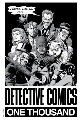 DETECTIVE COMICS #1000 (Brian Bolland Forbidden Planet B/W Exclusive)