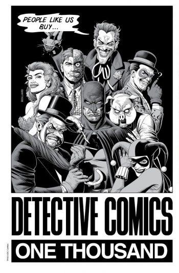 DETECTIVE COMICS #1000 (Brian Bolland Forbidden Planet B/W Exclusive)
