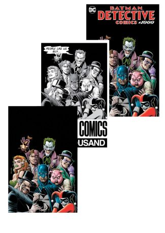 DETECTIVE COMICS #1000 (Brian Bolland Forbidden Planet 3-pack Exclusive)