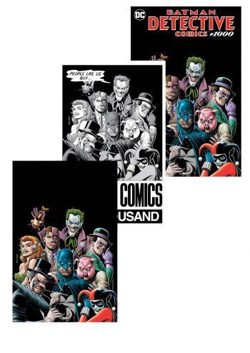 DETECTIVE COMICS #1000 (Brian Bolland Forbidden Planet 3-pack Exclusive)