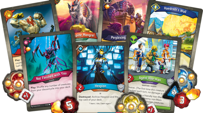 KEYFORGE: AGE OF ASCENSION OUT NOW