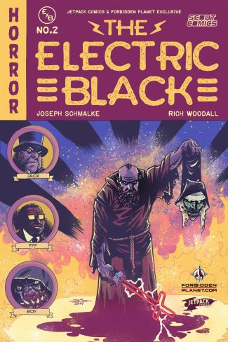ELECTRIC BLACK #2 (Jetpack Comics / Forbidden Planet Rich Woodall Exclusive)