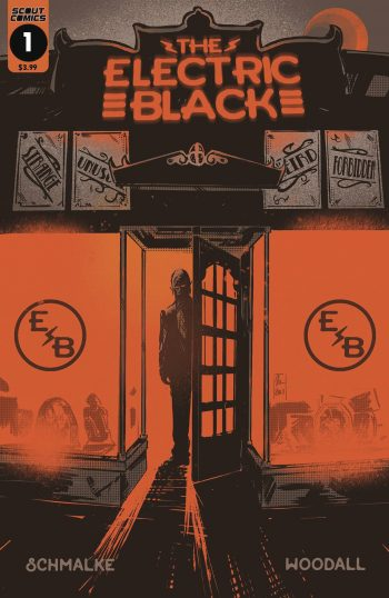 ELECTRIC BLACK #1  (Standard Cover)