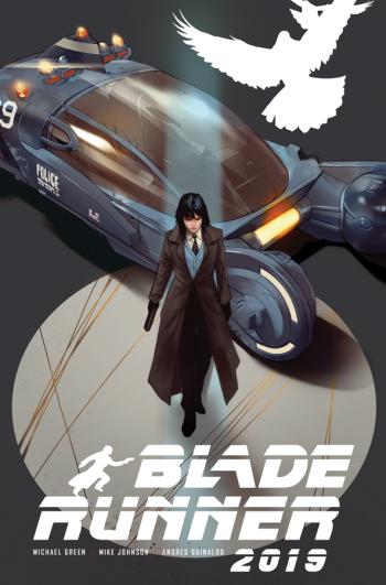 BLADE RUNNER #2 (Ben Oliver Jetpack Exclusive)
