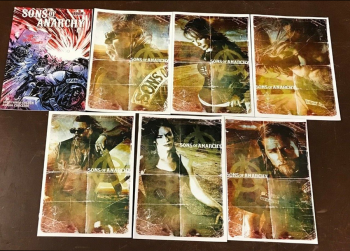 Sons Of Anarchy 1-6 (Jetpack Exclusives) PLUS Our Road To Rochester #1 Variant