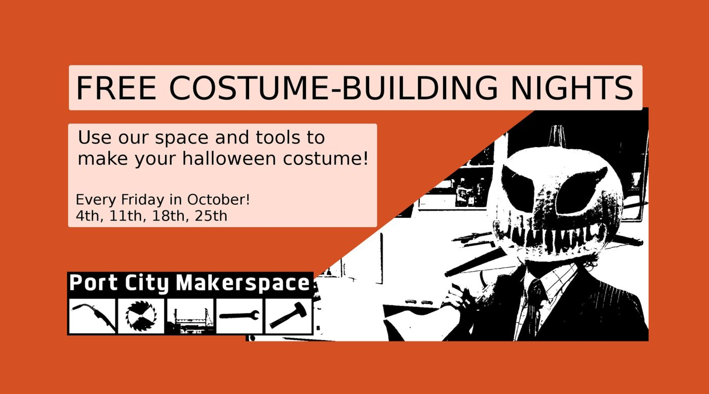 Costume Building At Port City Makerspace