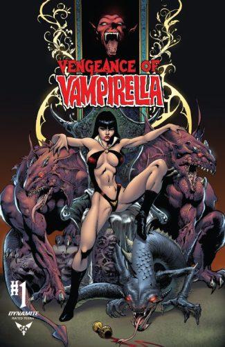 Vengeance Of Vampirella #1 (Robert Castro Jetpack Comics / Forbidden Planet Exclusive)