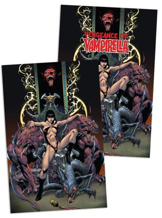 2x Vengeance Of Vampirella #1 (Robert Castro Jetpack Comics / Forbidden Planet Exclusive)